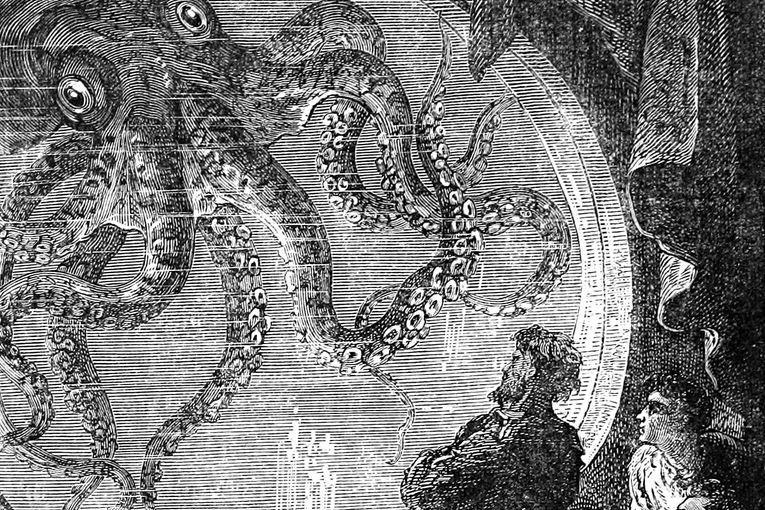 Veinte mil leguas de viaje submarino, de Julio Verne