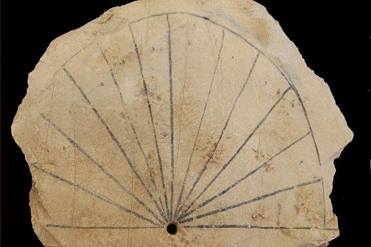 Reloj de sol egipcio, 1579 a.C.