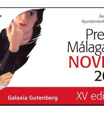 XV Premio Málaga de Novela 2021