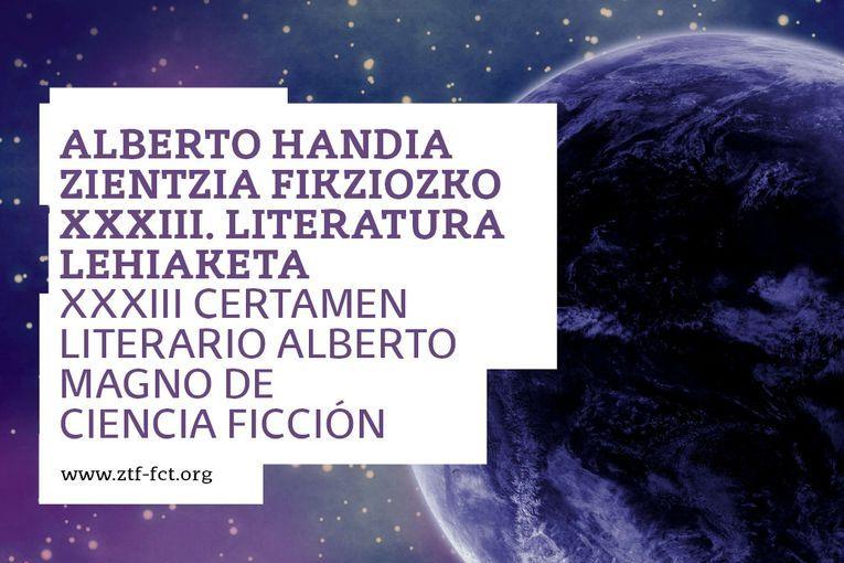 XXXIII Certamen Literario Alberto Magno de Ciencia Ficción 2021