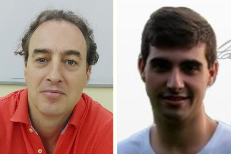 Ignacio del Valle y Guillem Santacruz