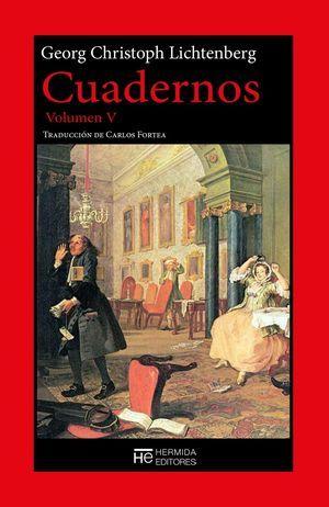 """Cuadernos"", volumen V, de Georg Christoph Lichtenberg"