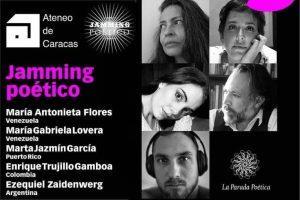 Marta Jazmín García, Ezequiel Zaidenwerg, Enrique Trujillo Gamboa, María Gabriela Lovera y María Antonieta Flores