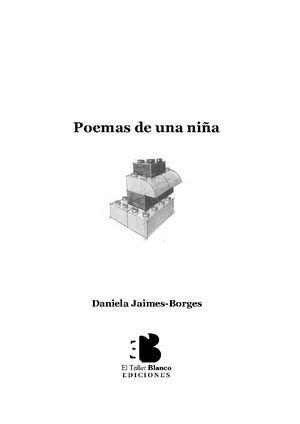 """""""Poemas de una niña"""", de Daniela Jaimes-Borges"""