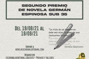Segundo Concurso de Novela Germán Espinosa Sub 35