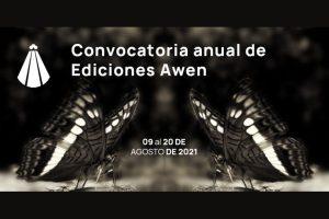 IV Convocatoria Anual de Originales de Ediciones Awen