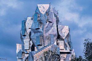 Torre Luma Arles, creación de Frank Gehry
