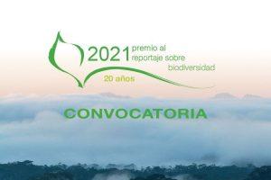 XX Premio de Reportaje sobre Biodiversidad (PRB) 2021