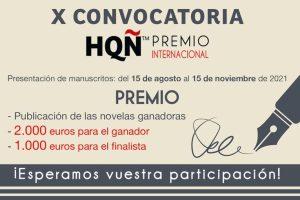 X Premio Internacional HQÑ de Novela Romántica