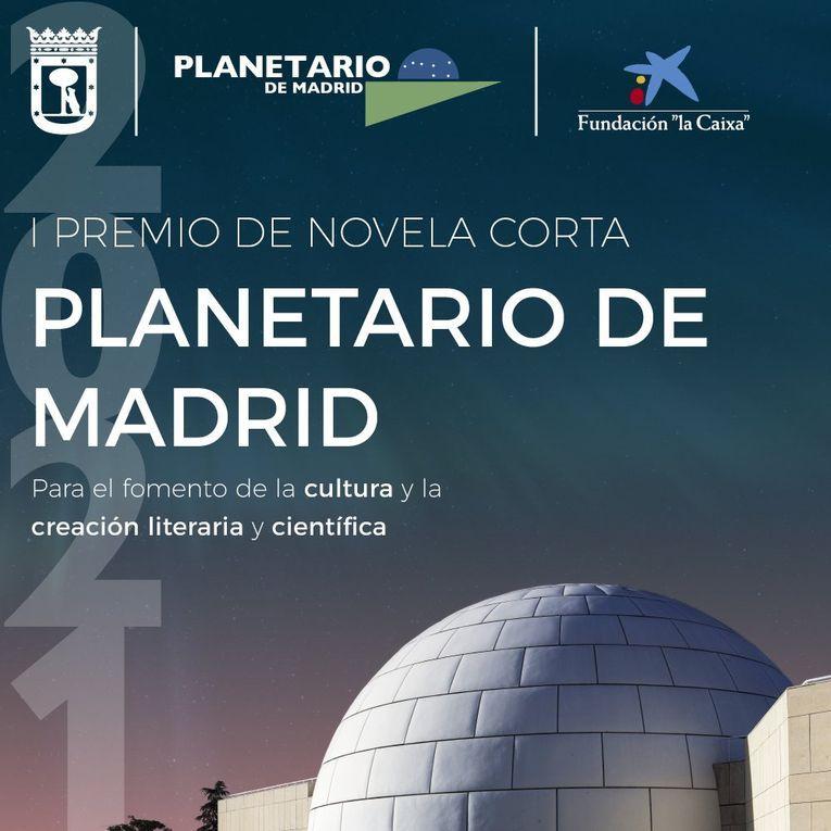 """I Premio de Novela Corta """"Planetario de Madrid"""""""