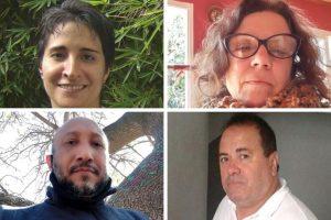 Eleonora Requena, Alexis Romero, Virginia Segret Mouro y Ricardo Rojas Ayrala