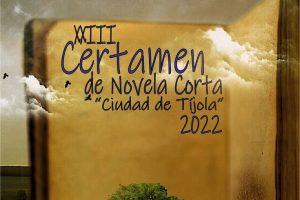 """XXIII Certamen de Novela Corta """"Ciudad de Tíjola"""" 2022"""