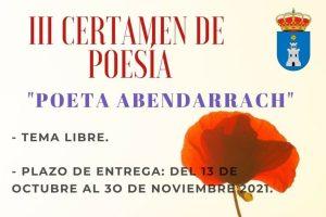 III Certamen de Poesía Poeta Abendarrach 2021 Cazalilla