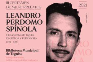 III Certamen de Microrrelatos Leandro Perdomo Spínola