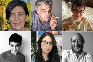 15º Encuentro Internacional de Cuentistas con Magela Baudoin, Carlos Castán, Cecilia Eudave, Andrea Mejía, Mónica Ojeda y Eduardo Antonio Parra