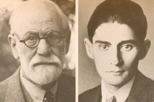 Sigmund Freud y Franz Kafka
