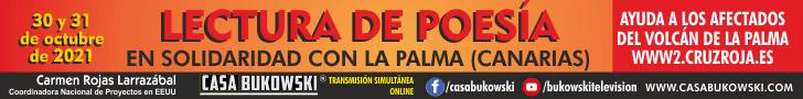 Lecturas de poes�a en apoyo a afectados por el volc�n en La Palma